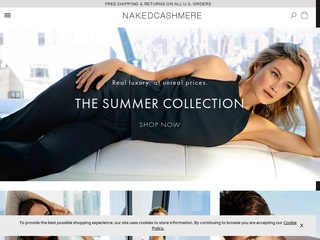 Go to Naked Cashmere website.