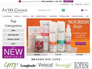 Go to aswechange.com website.