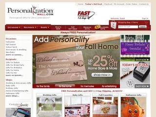 Go to personalizationmall.com website.