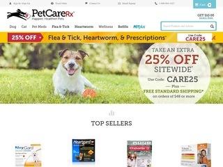 Go to petcarerx.com website.