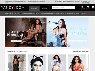 Go to Yandy website.