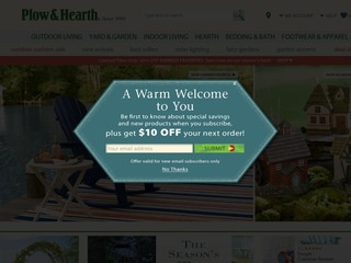 Go to plowhearth.com website.