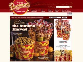 Go to popcornopolis.com website.