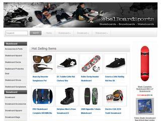 Go to rebelboardsports.com website.
