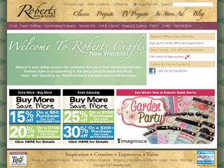 Go to robertscrafts.com website.