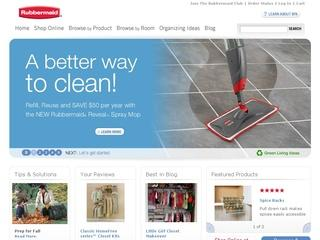 Go to rubbermaid.com website.