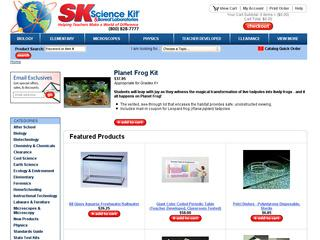 Go to sciencekit.com website.