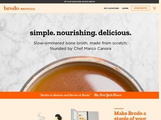 Go to brodo.com website.