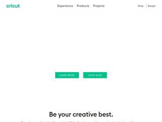 Go to cricut.com website.