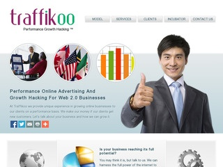 This is what the Traffikoo LLC website looks like.