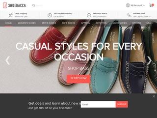 Go to shoebacca.com website.