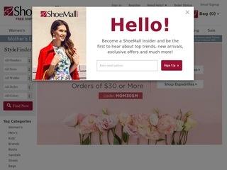 Go to shoemall.com website.