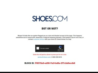 Go to shoes.com website.