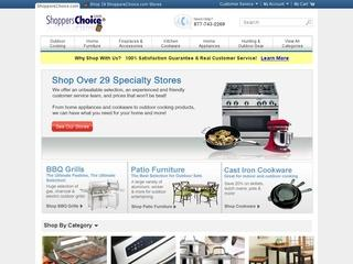 Go to shopperschoice.com website.