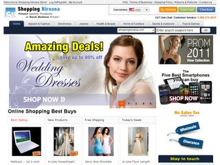 Go to shoppingnirvana.com website.
