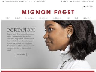 Go to Mignon Faget website.