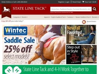 Go to statelinetack.com website.