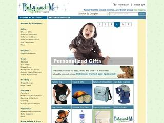 Go to babyandmeboutique.com website.