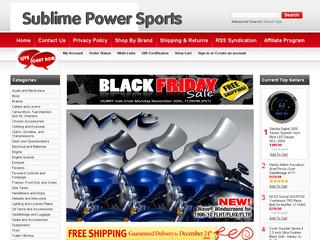Go to sublimepowersports.com website.