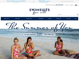 This is what the swimsuitsforall.com website looks like.