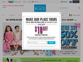 Go to childrensplace.com website.