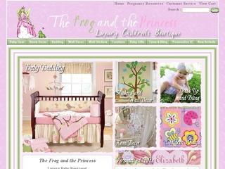 Go to thefrogandtheprincess.com website.