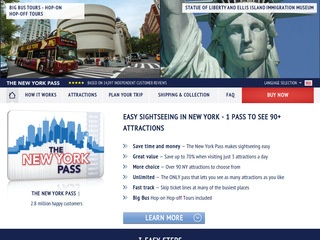 Go to newyorkpass.com website.