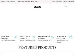 Go to Quanta CBD website.