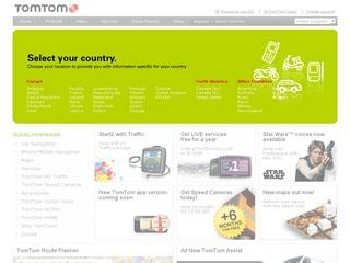 Go to tomtom.com website.