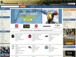 Go to backcountry.com website.