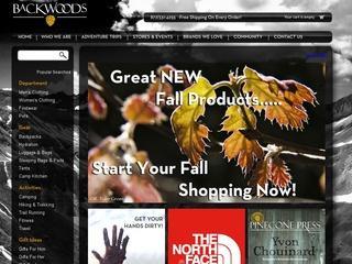 Go to backwoods.com website.