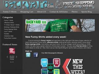Go to backyardtees.com website.