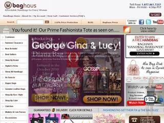 Go to baghaus.com website.