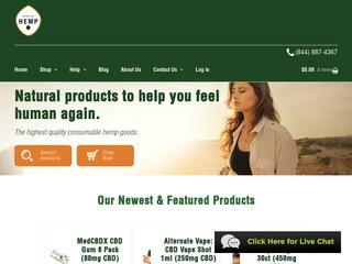 Go to MadeByHemp.com website.