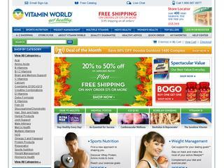 Go to vitaminworld.com website.