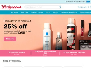 Go to walgreens.com website.