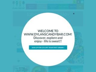 Go to Dylan's Candy Bar website.