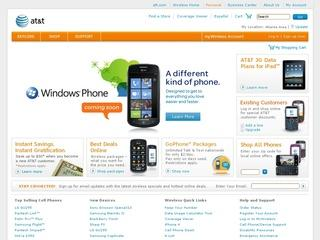 Go to wireless.att.com website.