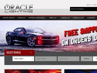 Go to ORACLE LIGHTING website.