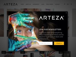 Go to arteza.com website.