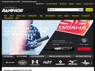 Go to baseballrampage.com website.