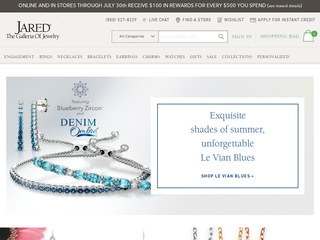 Go to Jared - The Galleria Of Jewelry website.