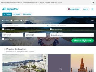 Go to skyscanner.net website.