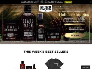 Go to scotchporter.com website.
