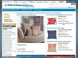 Go to pillowsuperstore.com website.