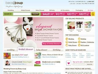Go to beau-coup.com website.