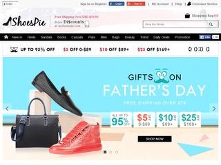 Go to shoespie.com website.