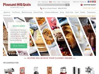 Go to Pleasant Hill Grain website.