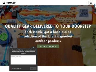 Go to Nomadik website.