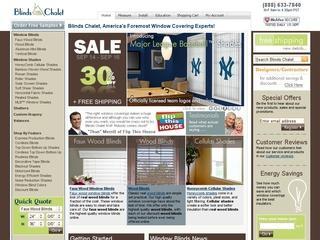 Go to blindschalet.com website.